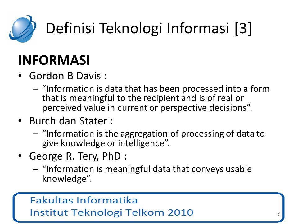Definisi Teknologi Informasi [3]